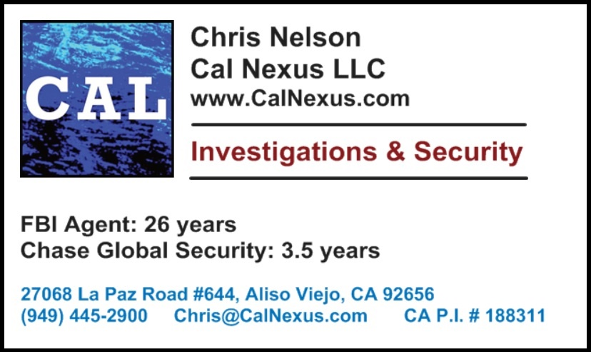 Cal Nexus LLC business card